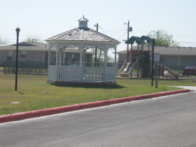 Gazebo and Playground View