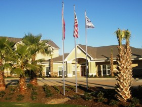 Clubhouse and Community Entrance
