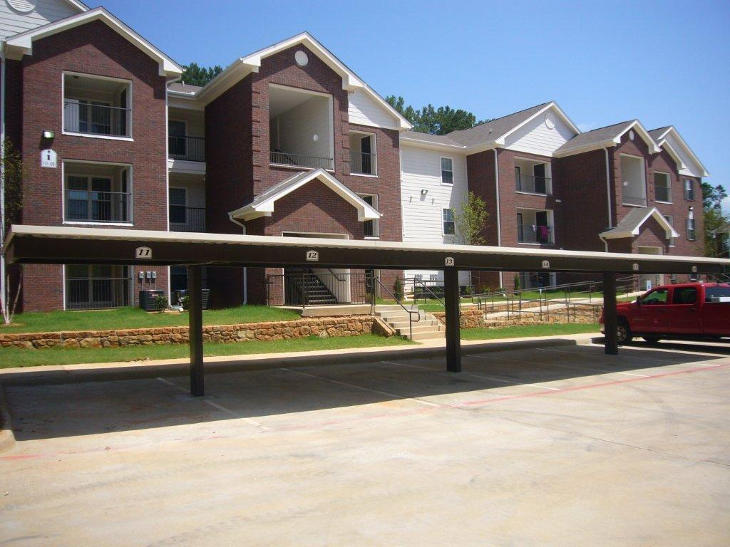 Timber village ii for Carport apartment