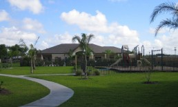 Clubhouse and Playground View