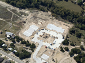 Aerial View - Under Construction